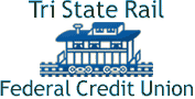 Tri State Rail Federal Credit Union Logo